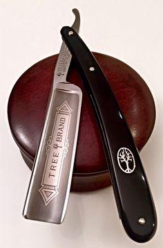 """Böker """" Tree Brand"""" - 6/8 Straight Razor Shaving Kit, Shaving Razor, Shaving Set, Wet Shaving, Barber Jobs, Beard Razor, Razor Strop, The Razors Edge, Barber Razor"""
