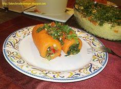 Comida Vegana Casera y facil de hacer: Zanahorias Rellenas