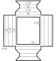Bastelideen Super diy paper box rectangle Ideas Wedding Catering: Buffet Or Service Article Paper Picture Frames, Paper Frames, Paper Photo Frame Diy, Frame Crafts, Diy Frame, Papier Diy, Cardboard Crafts, Diy Box, Diy Paper Box