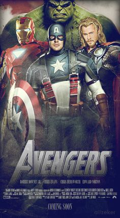 The Avengers. It speaks to my inner comic book nerd. MUST SEE IT. With @Alise Wisniewski?