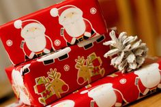 Santa Gift Wrap christmas gifts gift wrap merry christmas christmas pictures santa christmas ideas happy holidays merry xmas