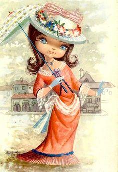 Parasol girl - gallarda