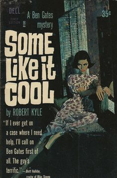 Some Like It Cool – vintage pulp book cover