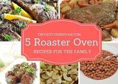 roaster oven recipes