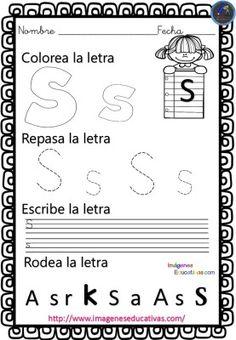 Completo cuaderno para practicar la preescritura y el trazo con el abecedario - Imagenes Educativas