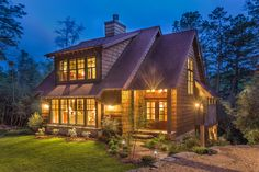 Cottage Retreat with Finished Lower Level - 26609GG | Cottage, Country, Craftsman, Mountain, Vacation, Narrow Lot, Photo Gallery, 2nd Floor Master Suite, CAD Available, Den-Office-Library-Study, In-Law Suite, PDF, Sloping Lot | Architectural Designs