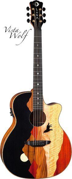 luna guitars - Vista luna guitars - Vista Wolf