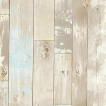 This is the wallpaper I just ordered to install horizontally on one wall in our guest room! Weathered wood plank wallpaper. Bath, Bath, Bath Vol. 4. Pattern 2532-20440