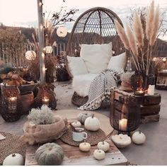 A beautiful outdoor space to enjoy warm nights and good friends! What do you th… A beautiful outdoor space to enjoy warm nights and good friends! 👀 TAG a friend who would love to sit out here! Bohemian Patio, Cozy Backyard, Outdoor Furniture Sets, Outdoor Decor, Dream Rooms, My New Room, Fall Decor, Outdoor Living, Outdoor Life