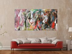 Abstract Art, Painting, Abstract Canvas Art, Art Production, Painting Art, Paintings, Painted Canvas, Drawings