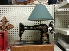 Singer lamp
