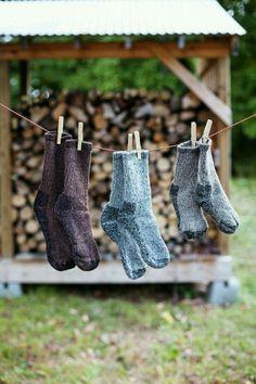 Seks dager på et par sokker What A Nice Day, Vie Simple, Work Socks, Farms Living, Jolie Photo, Slow Living, Cabins In The Woods, Simple Living, Farm Life