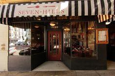 Seven Hills Restaurant in San Francisco Laurel Heights area.  My new Favorite!!!