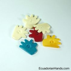 Hand Button 27mm; ;Sells in packs of (8 units). Thanks to their high quality designs, these craft beads are very used for jewelry making especially earrings as well as pendants of necklaces and bracelets. $7.94 Store: http://goo.gl/IX0x8