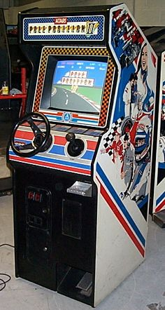 Pole Position II - Arcade Cabinet #arcade #videogames ...Please save this pin. Because for vintage collectibles - Click on the following link!.. http://www.ebay.com/usr/prestige_online