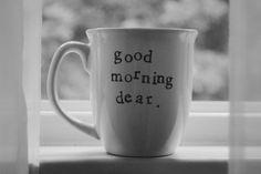 Good morning, dear.