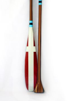 dreamy paddles from Sanborn Canoe Co.