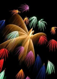 Astonishing Snaps of Fireworks !!! Part - 1 - Love to watch Fireworks! :)