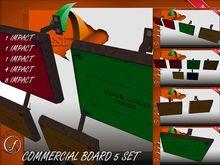 Commercial Display 5 set Full Perm Mesh
