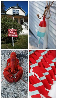 loving the lobster claw tags!