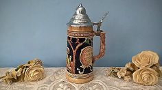 """#Vintage #german beer #stein 9"""",  View more on the LINK: http://www.zeppy.io/product/gb/2/301879539594/"""