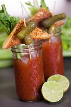 The best bloody mary EVER. :)