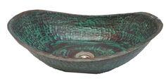 Rustic Verde Turquoise Bathtub Bath Tub Design Copper Bathroom Vessel Sink Hand Wash Toilet Lavatory Basin by Egypt gift shops