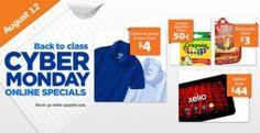 Walmart Back to School Cyber Monday Sale