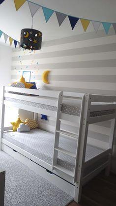 dekorator amator: Łóżko piętrowe w pokoju dziecięcym - czy to się sp...