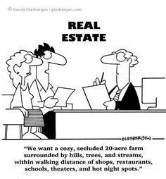 real estate cartoons | cartoons about real estate sales, cartoons about selling real estate ...