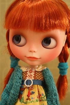 Ah, the Blythe that started it all for me.  I wish she were mine.