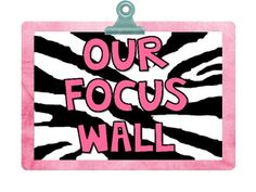 Reading Street  Focus Wall for 2nd grade  ZEBRA theme