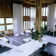 Ricardo Bofill turned an old cement factory into a house (Sant Just Desvern, Spain)