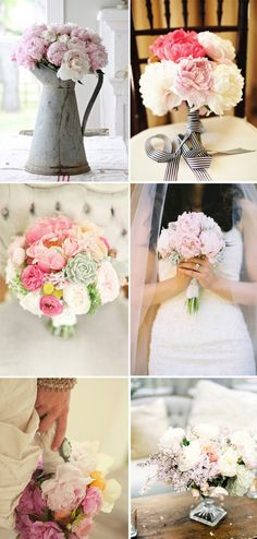 If I could redesign my wedding bouquet, it would surely be made of peonies! Chic Wedding, Floral Wedding, Perfect Wedding, Wedding Bouquets, Our Wedding, Wedding Flowers, Dream Wedding, Wedding Wishes, Wedding Reception