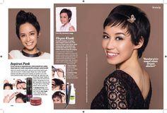 Teks astriana gemiati for JOY magazine  PhotoBy ricko sandy  In associate hairBy jeffry welly  Model petra