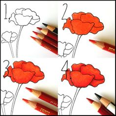 Annabelle Stamps Blog: Topical Tuesdays - Favorite Prismacolor Combinations.