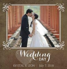 Wedding Photo Books - Rustic Wedding by Mixbook - Wedding Photography Wedding Photo Books, Rustic Wedding Photos, Wedding Book, Wedding Cards, Wedding Events, Wedding Day, Wedding Albums, Dream Wedding, Wedding Invitations