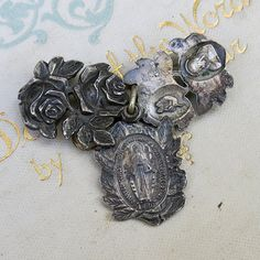 1000 Images About Religious Rosaries Medals Pins