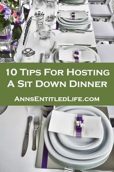 Hosting a Sunday night dinner? Here are some tips to consider.