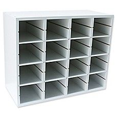 Real Simple® Shoe Organizer in White