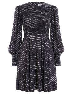 Zimmermann Shirred Mini Dress. Product Image.