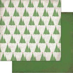 "Christmas Cheer Double-Sided Cardstock 12"" X 12"" - O Christmas Tree"