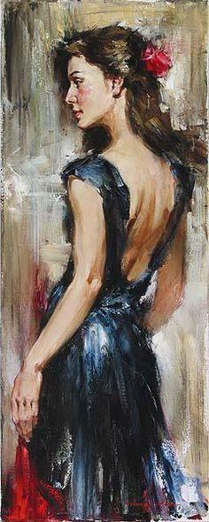 Andrew Atroshenko Loving Memory painting | framed paintings for sale
