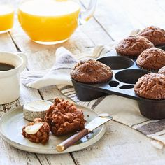 Original morning glory muffins Earthbound Farm& consultant, Chef Pam McKinstry, created these muffins in 197 Muffin Recipes, Breakfast Recipes, Dessert Recipes, Breakfast Muffins, Breakfast Ideas, Bran Muffins, Breakfast Club, Vegan Breakfast, Brunch Recipes