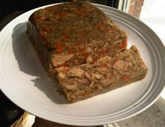 Rustic Smoked Pork Hock Head Cheese