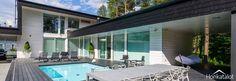 PlusHouse 254, modern wooden house - Honkatalot.fi