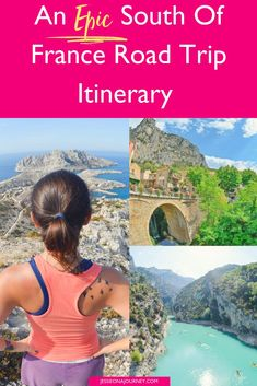 This South of France road trip itinerary takes you from the French Riviera to Provence, with epic stops along the way. Savor local food in Nice, kayak in the Verdon Gorge, discover hiking in Marseille and more! Europe Travel Tips, European Travel, Travel Guides, Travel Destinations, Travelling Europe, Europe Packing, Amazing Destinations, France Travel, Italy Travel