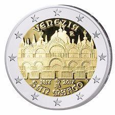 2 Euro Italia 2017. 400° anniversario del completamento della Basilica di San Marco
