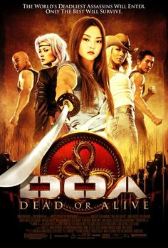 Directed by Corey Yuen.  With Jaime Pressly, Devon Aoki, Sarah Carter, Holly Valance. The movie adaptation of the best selling video game series Dead or Alive.