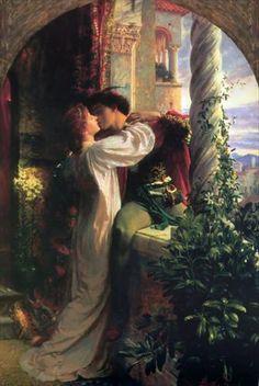 Romeo and Juliet  Sir Frank Dicksee.Монтекки и Капулетти. Сочинение обычно датируется 1594-95 годами.